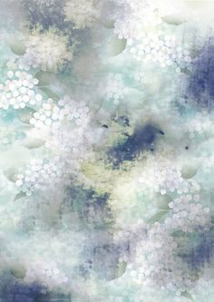 Digital Textile Prints by Eloise Rapp, via Behance