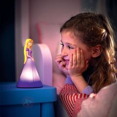 This child friendly Disney Princess Bedside Table Lamp stays cool to touch and is perfect for desks and bedside tables! Night Light, Light Up, Disney Princess Rapunzel, Bedside Table Lamps, Kids Sleep, Stay Cool, Night Time, Lava Lamp, Kids Bedroom