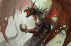 dragon_by_chevsy-d5b1hcw.jpg (1000×658)