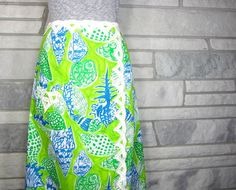 Vintage Skirt Maxi 60s Lilly Pulitzer