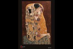 Alabastro Moldeado. Fondo madera decorado con pan de oro. Policromía al óleo. Pátina antigua. Relieve basado en la conocida obra del pintor Gustav...
