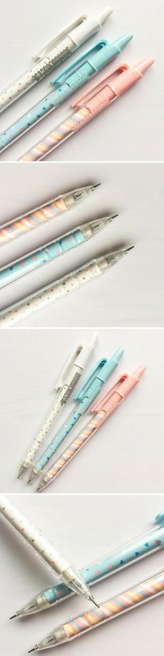 Pastel Patterned Mechanical Pencils - Ice Cream Inspired - Polka Dots - Cute School Supplies - Kawaii Stationery. Available on Etsy - delivered worldwide! Fans of cute Japanese and Korean stationary will love these pretty pastel pencils. Good back to school supplies? Available in three ice cream inspired styles: - Pink - Blue - White #kawaii #stationery #pastel #pencils #etsy #affiliate