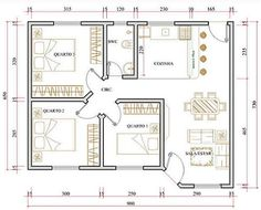 Small House Layout, House Layout Plans, My House Plans, Duplex House Plans, Craftsman House Plans, Small House Design, Small House Plans, House Layouts, House Floor Plans