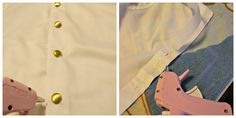 DIY Prince Charming Costume Buttons