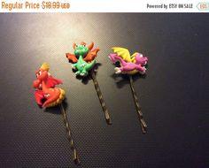 On Sale bobby pins hair pins  Dragon hair pins set of 3 by EMTWTT