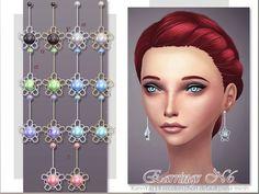 KanoYa Sims: Pearl earrings • Sims 4 Downloads