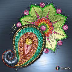 Hamsa Design, Coloring, Pattern