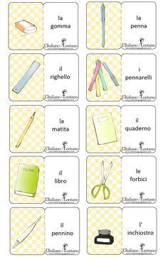 Cosa serve a scuola #italianlanguage #italianlesson #linguaitaliana