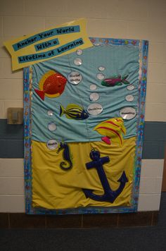 Under the sea back to school bulletin board