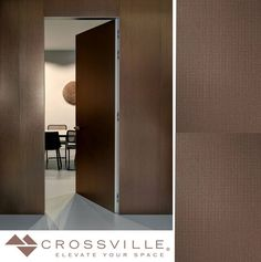 This #WallTileWednesday celebrates a new dimension of porcelain tile with our Laminam by Crossville large format panels. Filo shown here here in Rubino is the pioneering juxtaposition of elegant porcelain and metal vanguard skinned with an intriguing chain-mail texture for true stylistic edge. by crossvilleinc