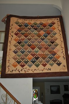 "Civil War reproduction fabrics... ""Homeward Bound"""