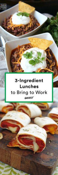 Ideas for snacks easy healthy lunch ideas Quick Lunch Recipes, Quick Healthy Lunch, Healthy Sweet Snacks, Eat Healthy, Easy Recipes, Good Healthy Recipes, Healthy Lunches For Work, Work Meals, Snacks Sains