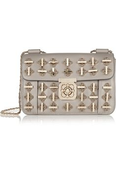 9293222fca43 Chloé - Elsie medium embellished leather shoulder bag