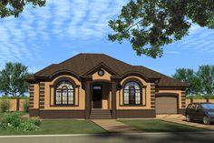 Проект дома Exterior Paint Colors For House, Dream House Exterior, Exterior Colors, Plans Architecture, Bungalow House Design, Story House, Facade House, House Plans, Cottage