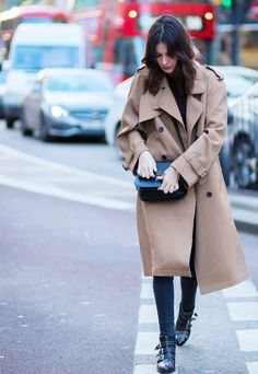 Shop the Wardrobe Essentials of London's It-Girls via @WhoWhatWearUK