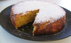 What else to order in a cafe, but flourless orange cake for fellow fructosians? But wait, now you can make this scrumptious treat at home ; Gluten Free Cakes, Gluten Free Desserts, Dairy Free Recipes, Delicious Desserts, Greek Sweets, Greek Desserts, Cookie Desserts, Flourless Orange Cake, Fructose Free Recipes
