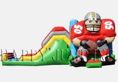 Backyard Jump & Slide (Football) Wet & Dry