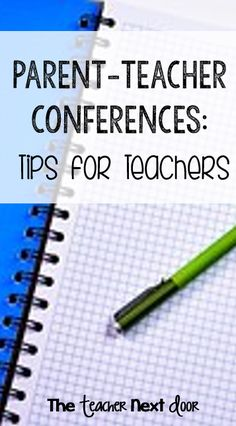 Want some tips for Parent-Teacher Conferences? Find lots of helpful ideas here!