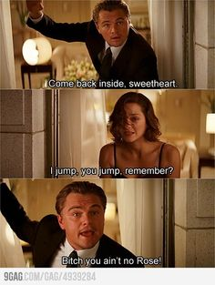 Inception - Titanic humor