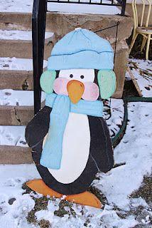 Penguins! Such a cute idea for winter!
