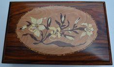 Caixa da Rafaella - Marchetaria [Marquetry] a (wood work - Box)