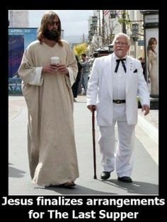 religious humor made me chuckle