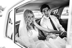 Gorgeous and stylish couple who had a Disney Wedding! We are obsessed with the bride.