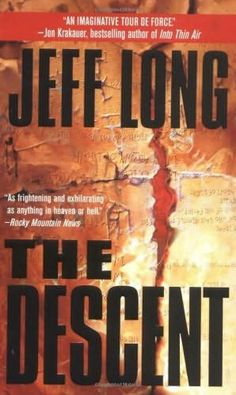 book cover of     The Descent      (Hadals, book 1)    by    Jeff Long