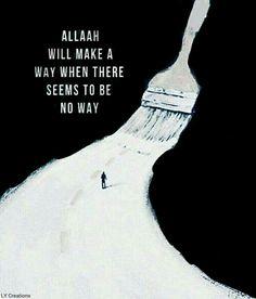 I trust my life on Allah
