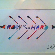 Never go too hard... Never go too fast...