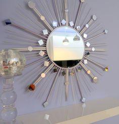 LUSTRO SŁOŃCE - Sunburst mirror DIY