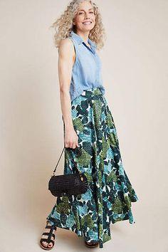 Eva Franco Cacti Garden Maxi Skirt