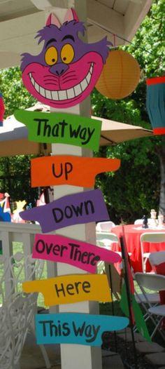 Cute sign idea!