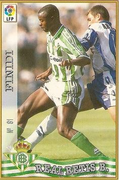 Finidi George, Real Betis