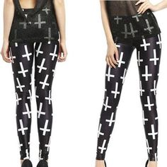 Leggings - Crosses Leggings
