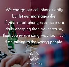 Keep your spouse a priority.