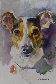 """Daily+Paintworks+-+""""Chico+(commission)""""+-+Original+Fine+Art+for+Sale+-+©+Katya+Minkina"""