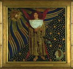 rosetti's annunciation to mary and joseph