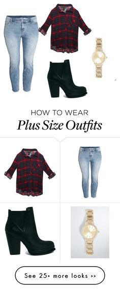 """Plus size"" by cruzadoj on Polyvore"