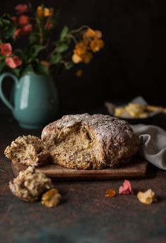 The base of this Irish soda bread is from Paul Hollywood who is  pretty much the bread god of England. It's also the easiest bread you will ever make as there is no yeast, no proving and no kneadin...