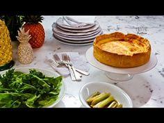 Quiche de queijo branco servida com alho-poró assado - Receitas - Receitas GNT