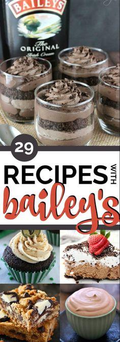 Baileys Irish Cream, Irish Cream Drinks, Irish Cream Liquor, Irish Cream Cake, Baileys Recipes, Irish Recipes, Baileys Drinks, Easy Irish Desserts, Baileys Cake