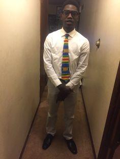 Kente Tie African Wear, Tie, How To Wear, African Fashion, African Clothes, Cravat Tie, Ties
