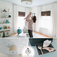 Project Nursery - Honey & Fitz Reed's Starry Nursery