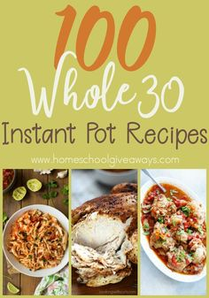 Easy Chicken Tacos (Instant Pot, Oven or Slow Cooker) - New Ideas Slow Cooker, Easy Pressure Cooker Recipes, Instant Pot Pressure Cooker, Healthy Crockpot Recipes, Paleo Recipes, Real Food Recipes, Healthy Meals, Free Recipes, Easy Recipes