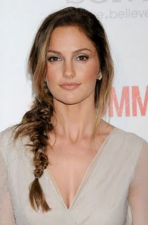 fishtail braid.  minka kelly