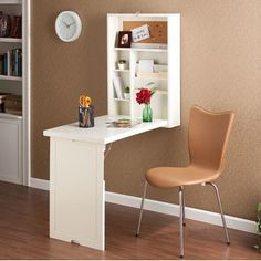 Wildon Home ® Adams Fold Out Convertible Floating Desk & Reviews | Wayfair