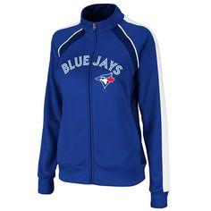 MLB Majestic Toronto Blue Jays Women's Great Play Track Jacket