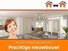 Ruil uw eigen huis in voor een nieuwe woning! Geen zorgen meer over de verkoop van uw huidige woning.  www.inruileigenwoningzeeland.nl