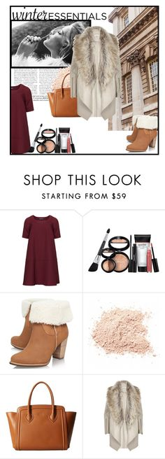 """""""Winter Essentials"""" by alwaysroyal on Polyvore featuring Whiteley, Manon Baptiste, Laura Geller, UGG Australia, Furla and River Island"""